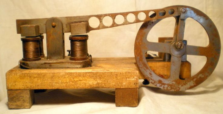 machine appareil scientifique ancienne rare moteur electrique old elektromotor ebay. Black Bedroom Furniture Sets. Home Design Ideas