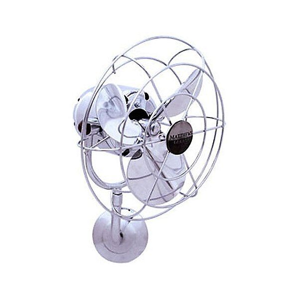 12 Michelle Parede Wall Fan By Matthews Fans Color White Finish White Motor White Blades Mp Wh Mtl Matthews Fans