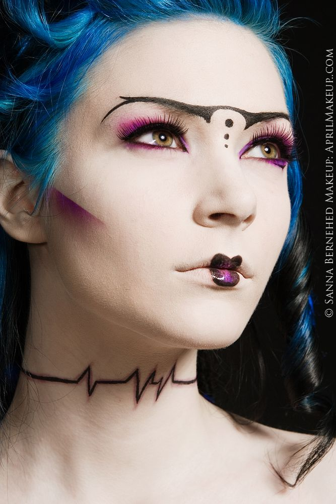 Best 25+ Futuristic Makeup Ideas On Pinterest