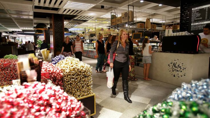 Regional manager Kate Holsgrove said the number of shoppers was up 40 per cent on an average Saturday and 50 per cent on an average Sunday.