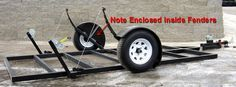 Drop Wheel Trailer For Fish House-Hunting Shack | HSO INSIDER Boats, Fishing, Hunting, Employment & Used Items FOR SALE! | Hot Spot Outdoors - Ice Fishing Reports & Hunting