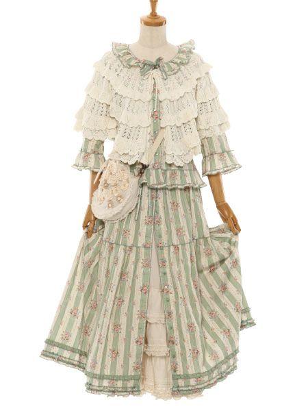 Mori kei, natural kei, feminine dress
