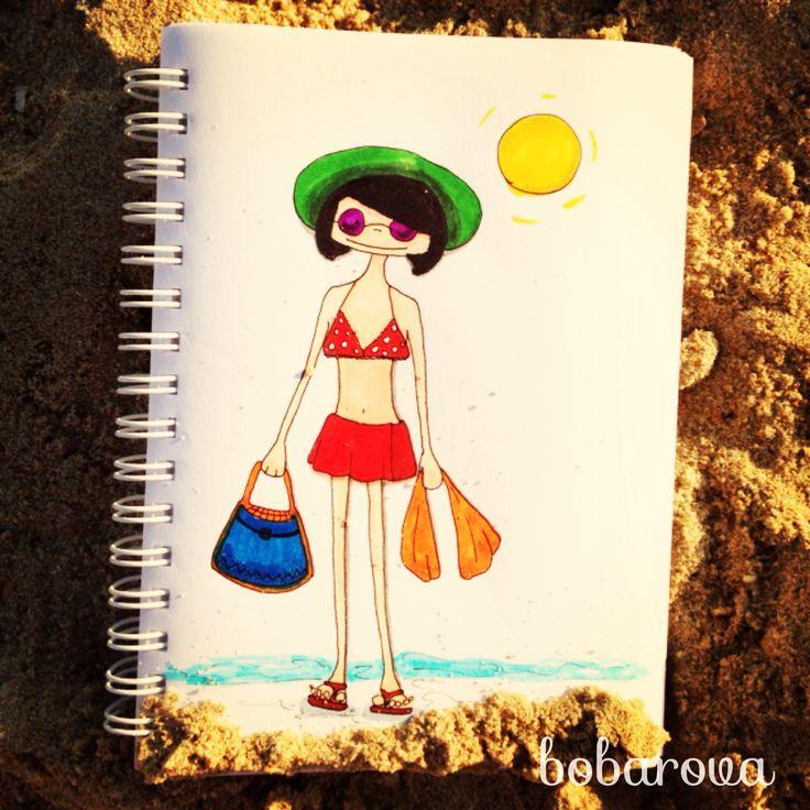 bobarova on holiday