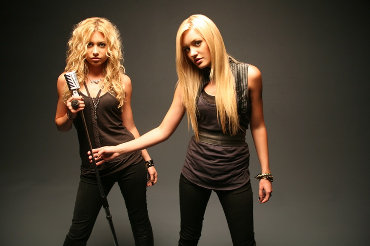 Aly and AJ Michalka, my childhood favorites.
