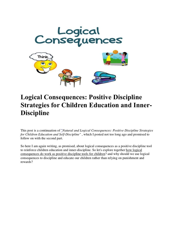 logical-consequences by Lala Johnson via Slideshare