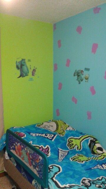 25 best Disney Monster, Inc. Bedroom Decor images on Pinterest ...