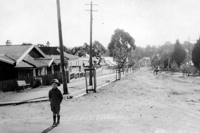 Station Street, Katoomba 1922 by Blue Mountains Local Studies, via Flickr