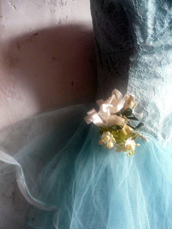 vintage tule jurk | Nieuw - Nieuw | De Merel Brocante webwinkel