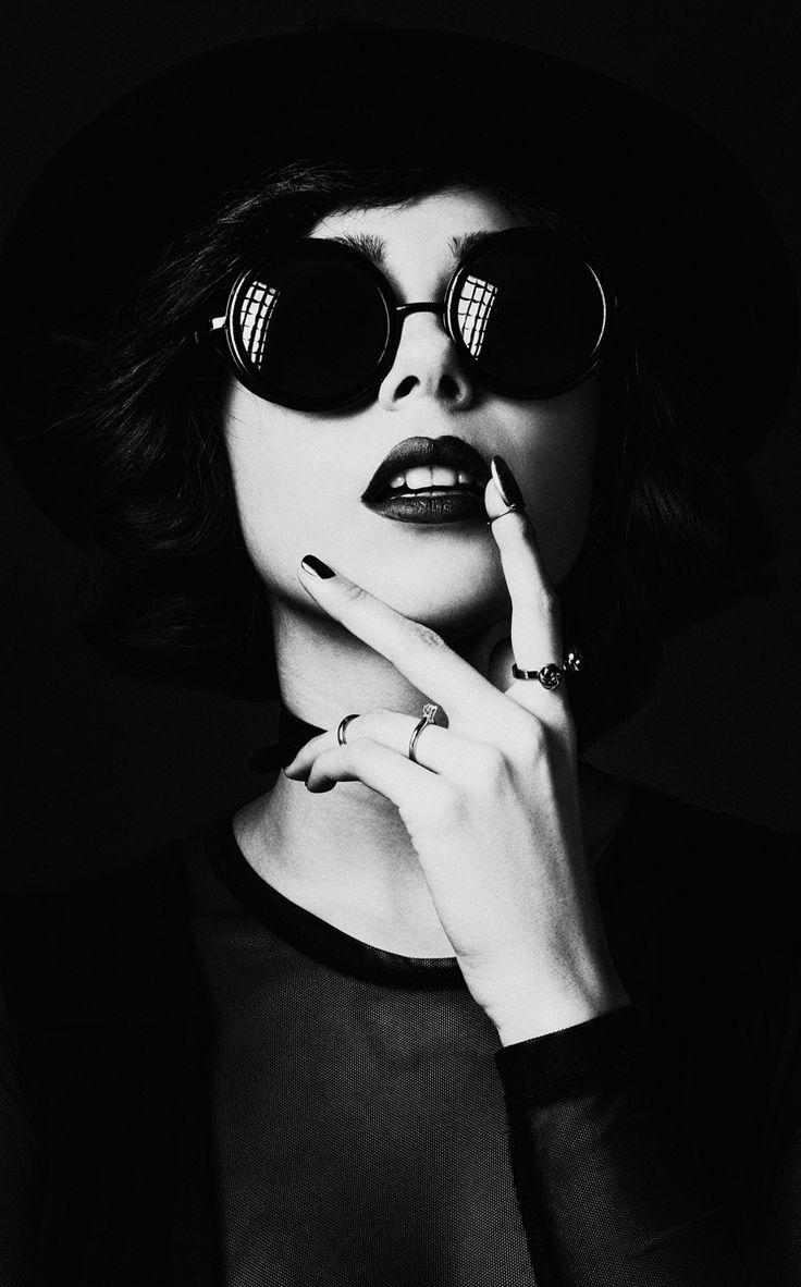 Photographer: Nati Keren Stylist/Model: Dinka Fashion by darkbeautymag