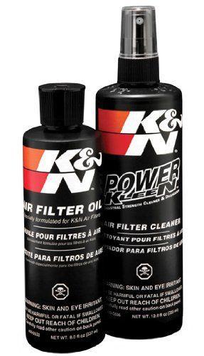 K&N 99-5050 Kit d'Entretien de Filtre à Air: Système d'entretien en six étapes conçu pour recharger tous les filtres à air Filtercharger…
