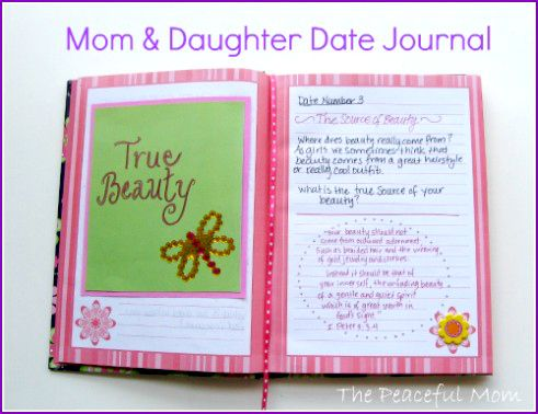 DIY Mom & Daughter Date Journal                                                                                                                                                                                 More