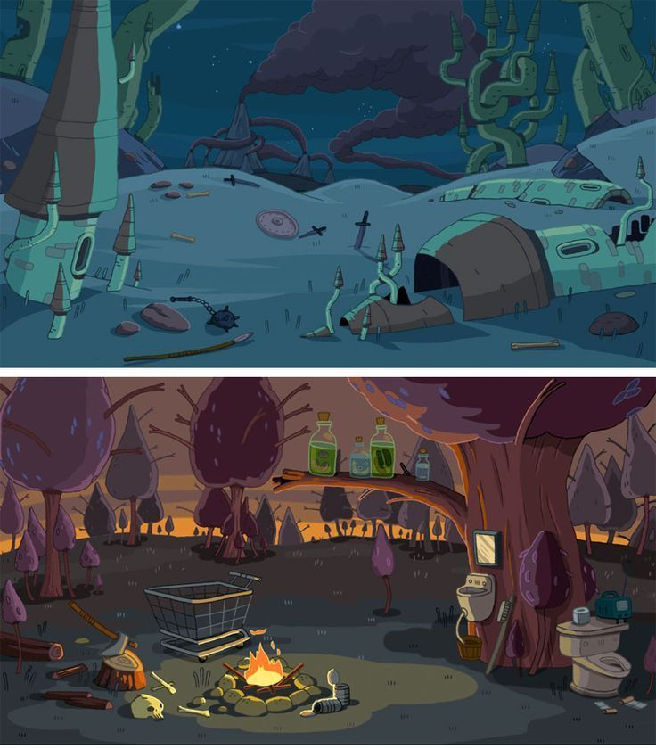 Adventure Time Scenes Geek Adventure Time Background Game Concept Art Animation Background