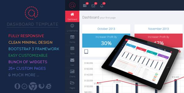 This Admin is the first of its kind in the matter of helpful 'Parts'. The look and feel is ostensible but sufficiently fresh that can be utilized as a part of a wide range of Admin Dashboard layouts. I have utilized numerous helpful plugins and gadgets for simple access and utilization.