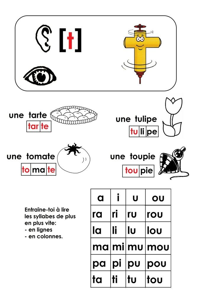 Épinglé sur C2/3-Prim.-Français 2 : Phonologie (CP et CE1)
