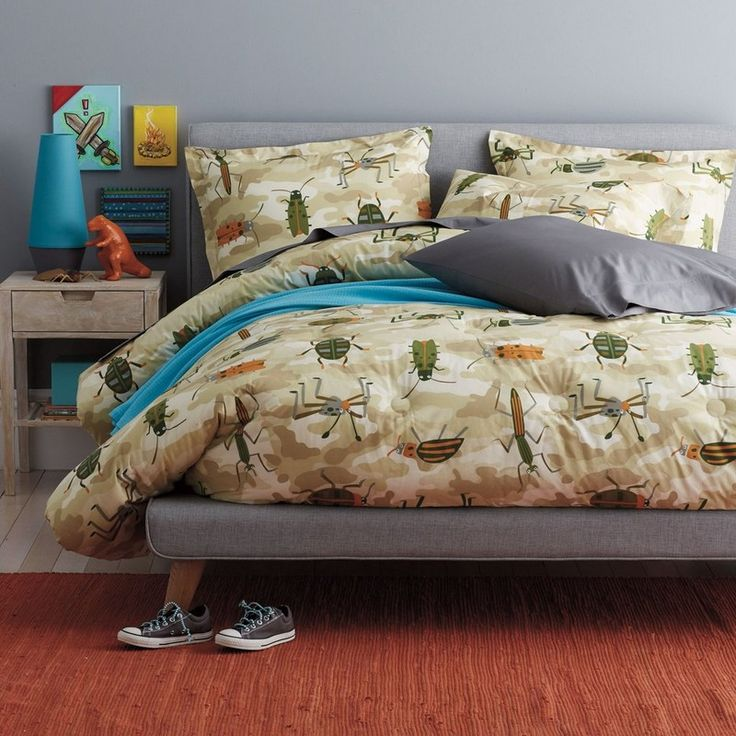 camo bugs bedding little bug lovers will find plenty to love in this fun - Fun Kids Sheets