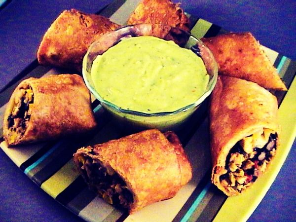Chilies Southwestern Egg Roll- These Are To Die For! So Flavorful!