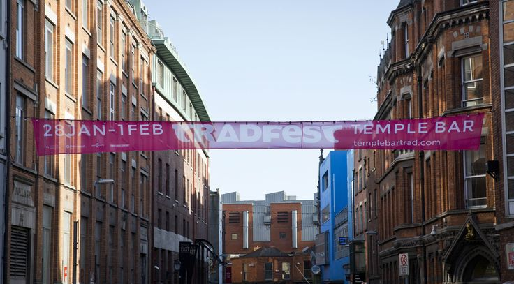 Welcoming Festival Goers to TradFest Temple Bar 2015 www.templebartrad.com