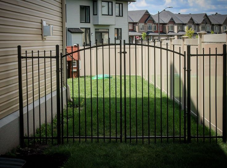 Marquee Arched Double Gate  Fence-All