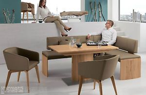 Wössner Dining+Comfort Essgruppe Tischgruppe Eckbankgruppe Leder wählb. u. mehr