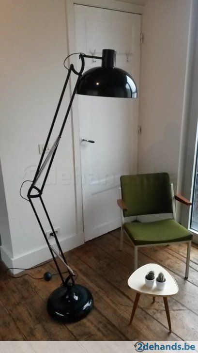 Retro vintage staanlamp XXL model