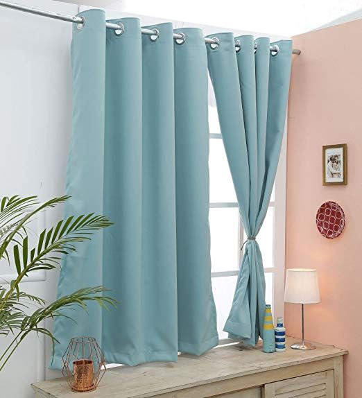 Cliths 2 Panels Premium Quality Room Darkening Icymorn Blackout Curtains Window 4 5 X 5 Ft Curtains Room Blackout Curtains