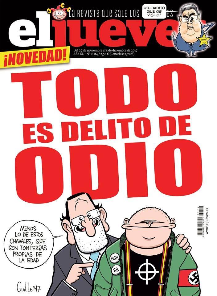 Portada Revista El Jueves  nº. 2114