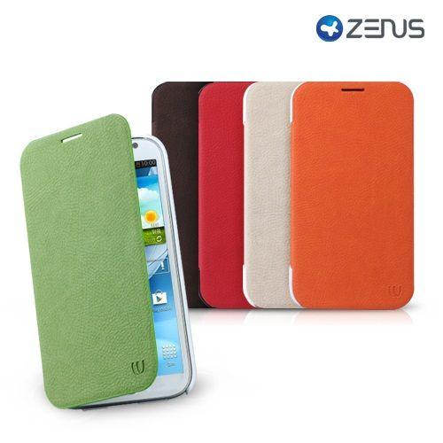 Zenus Walnutt Color fundas para Galaxy Note 2