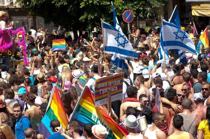 Gay Pride Tel Aviv. Sodomites. Gay Pride (Satanic Pride) Tel Aviv