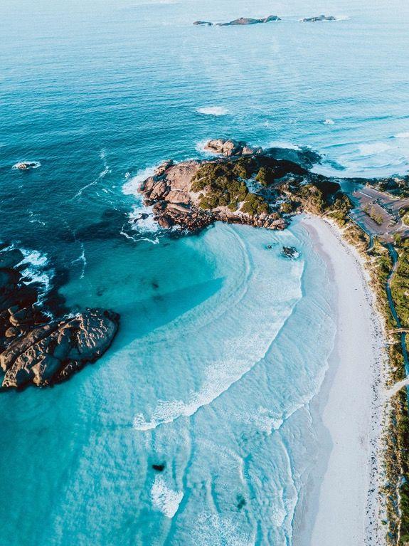 [OC] Beautifully blue water at Twilight Beach, Esperance, Western Australia [2000x2668] : EarthPorn