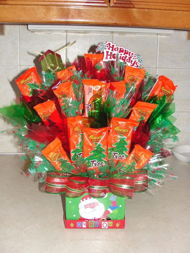 Best candy bouquets images on pinterest