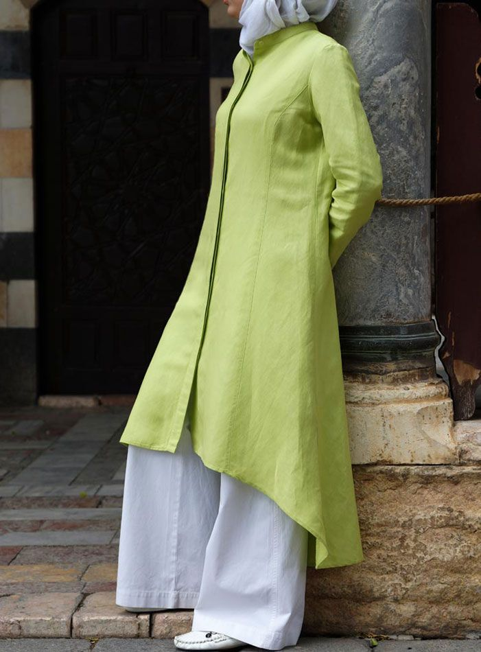Long Flared Top from SHUKR