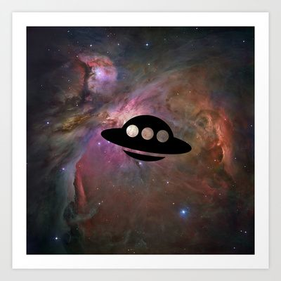 UFO Art Print by Ace of Spades - $17.99