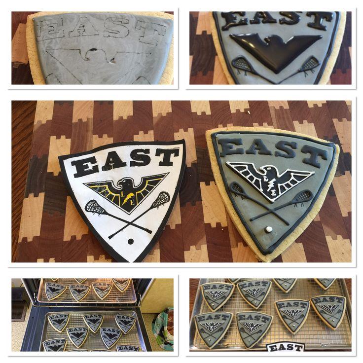 Lacrosse Team  Decorated Cookies