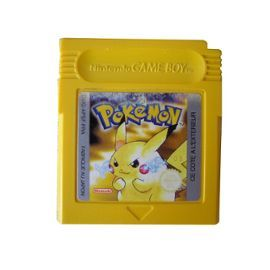 Jeu Game Boy: Pokémon Version Jaune - Pikachu (Loose)