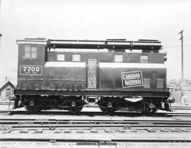 Canadian National R.R.  #7700.   First diesel electric switcher built in 1929 by the Canadian Locomotive Co.
