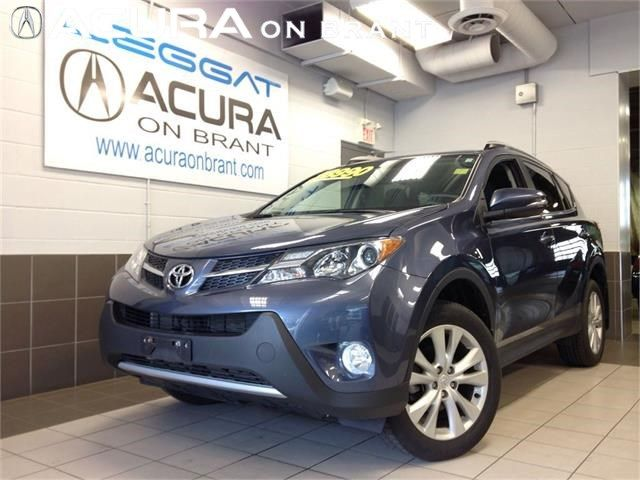 2013 Toyota RAV4 LIMITED AWD 4CYL ONLY20KMS ACCIDENTFREE