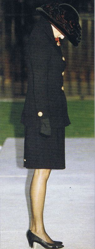 Princess Diana Legacy : Photo. Her father's memorial service?