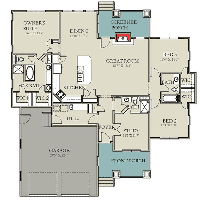 31 Best Images About 1900 Sq Ft House Plans On Pinterest