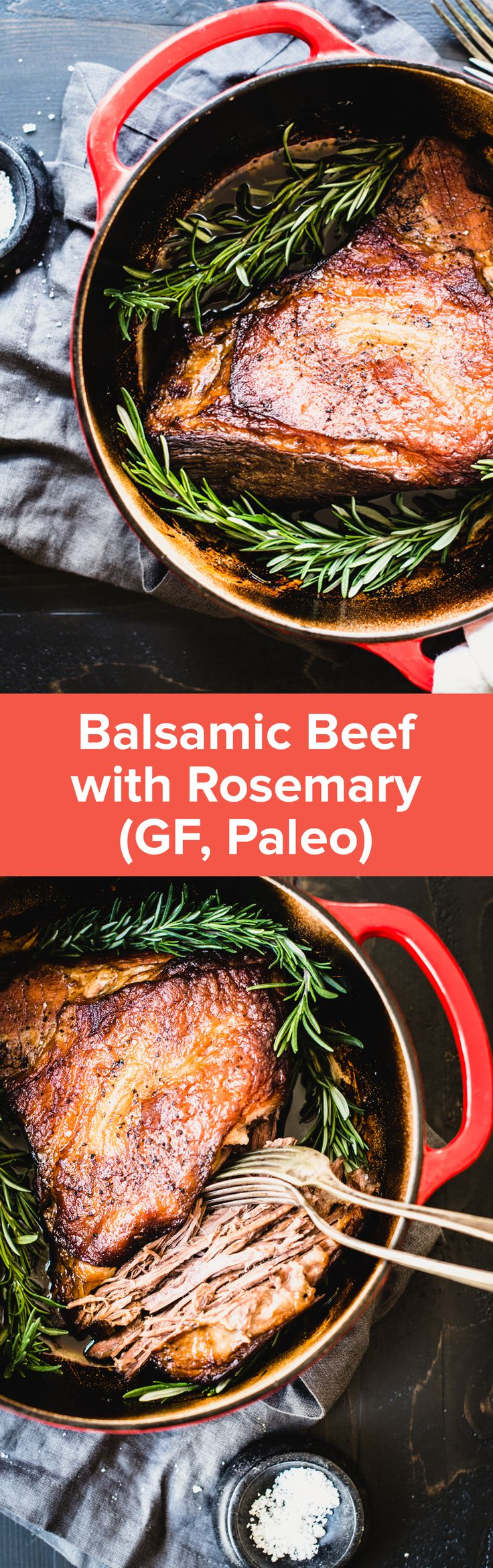 Balsamic Beef with Rosemary | StupidEasyPaleo.com