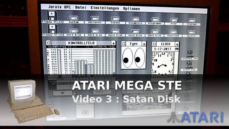 ArduinoPrX : Atari Mega STE (SatanDisk) (+Interne HDD) (Multitasking)