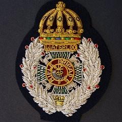 Waterloo Rifle brigade Military Badge