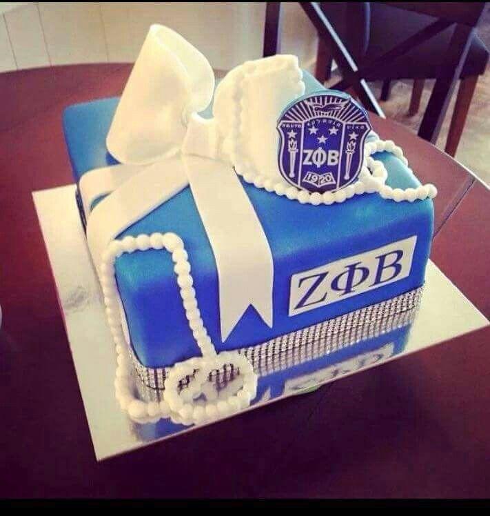 Zeta cake Zeta phi beta