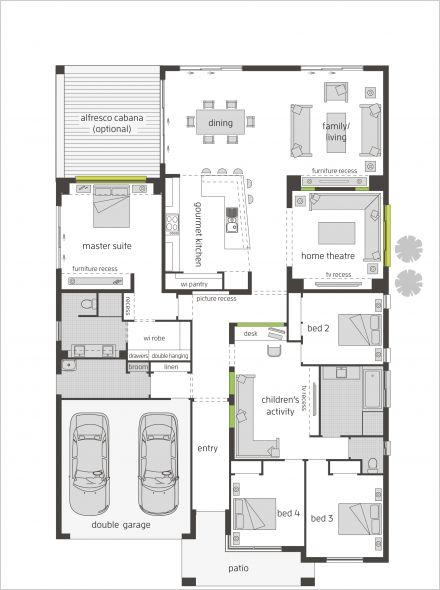 Milano One 16m floor plan