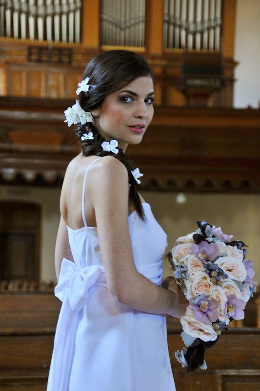 Madeira mintás menyasszonyi ruha