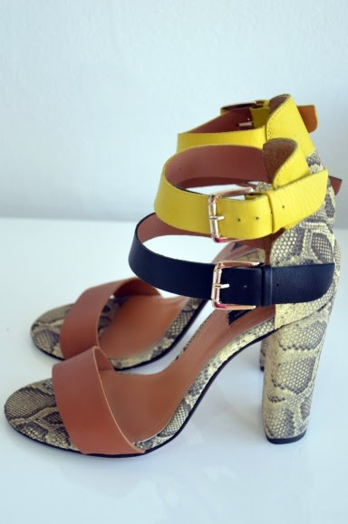 Zara Snake Print Sandals, too bad I already have my snake print wedges