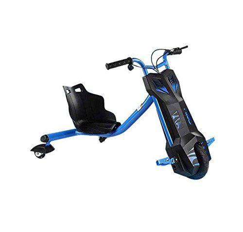 Triciclo eléctrico para Derrapes con giros hasta 360 grados  Patín ebike Scooter Drift para niños con 3 ruedas con Bluetooth