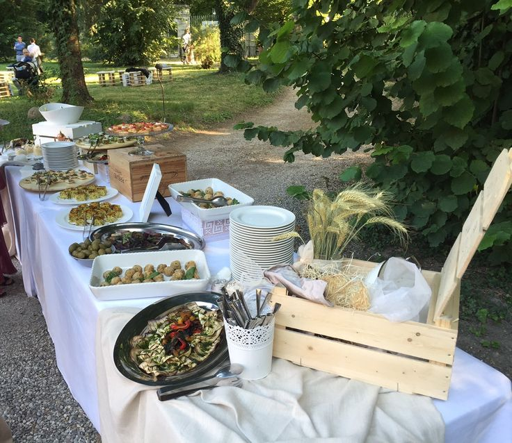 Buffet all'aperto by Da Paolo catering (San Prospero, Modena)