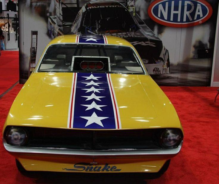 photos of skulker cuda funny car   Iconic 1970 Cuda Snake Funny Car