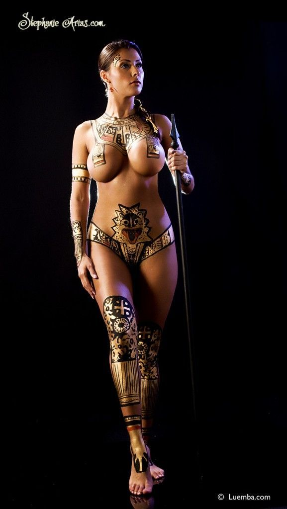 Cartoon aztec girl nude idea and