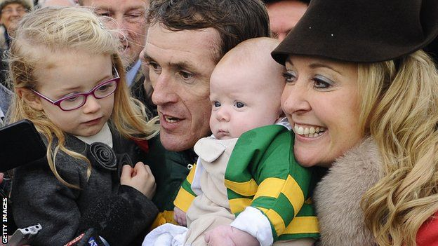 AP McCoy's wife Chanelle speaks of relief at jockey's retirement